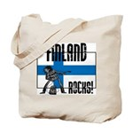 Finland Rocks Tote Bag