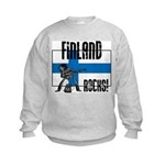 Finland Rocks Kids Sweatshirt