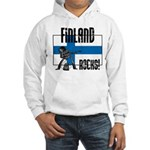 Finland Rocks Hooded Sweatshirt