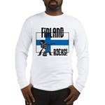 Finland Rocks Long Sleeve T-Shirt