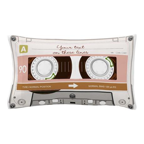 "20/""x30/"" 674542237 CafePress Clear Audio Cassette Standard Size Pillow Case"