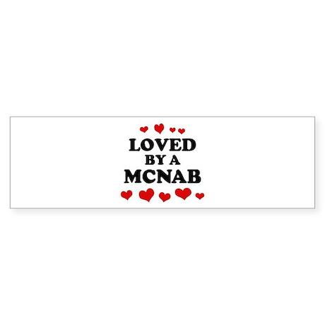 Loved: McNab Bumper Sticker