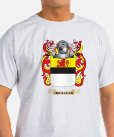 Heneghan Coat of Arms (Family Crest) T-Shirt