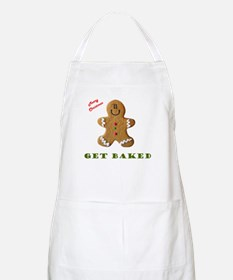 Get Baked Gingerbread Man BBQ Apron