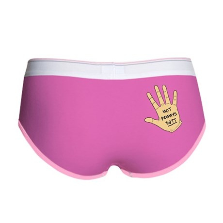 Not Pennys Butt Women's Boy Brief