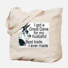 C H Husband Trade Tote Bag