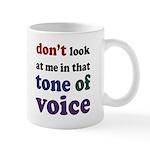 Tone of Voice Mug