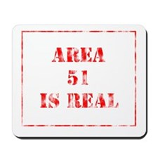 Area 51 is real Mousepad