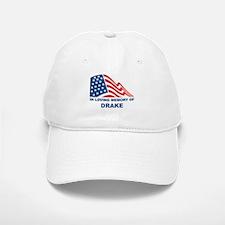 Loving Memory of Drake Baseball Baseball Cap