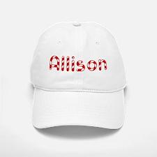 Allison - Candy Cane Baseball Baseball Cap