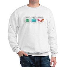 Rock Paper Scissor Sweatshirt