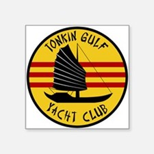 "Tonkin Gulf Yacht Club Square Sticker 3"" x 3"""