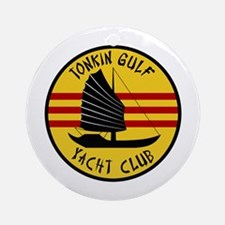 Tonkin Gulf Yacht Club Ornament (Round)