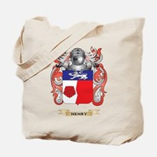 Henry Coat of Arms (Family Crest) Tote Bag