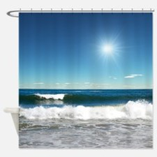 Ocean Waves Shower Curtain