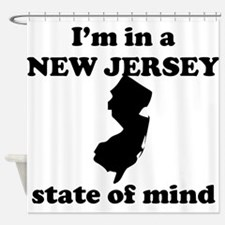 Im In A New Jersey State Of Mind Shower Curtain