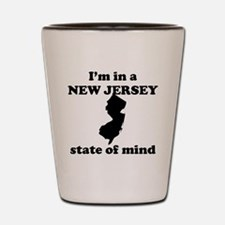 Im In A New Jersey State Of Mind Shot Glass