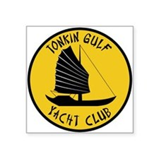 "Tonkin Gulf Yacht Club Square Sticker 3"" x 3"""