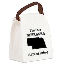 Im In A Nebraska State Of Mind Canvas Lunch Bag