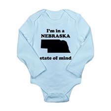 Im In A Nebraska State Of Mind Body Suit