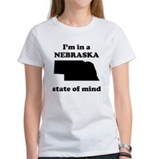 Im In A Nebraska State Of Mind T-Shirt