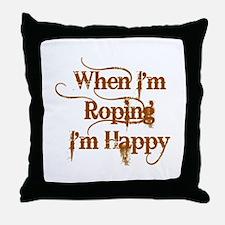 Roping Throw Pillow