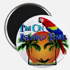 """Island Time 2.25"""" Magnet (10 pack)"""
