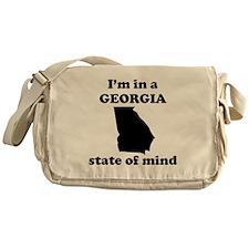 Im In A Georgia State Of Mind Messenger Bag