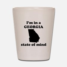 Im In A Georgia State Of Mind Shot Glass