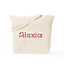 Alexia - Candy Cane Tote Bag
