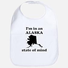 Im In An Alaska State Of Mind Bib