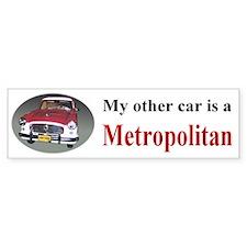 Nash Metropolitan Bumper Bumper Sticker