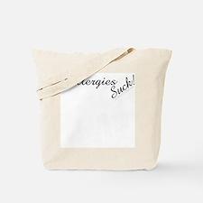 Allergies Suck! Tote Bag