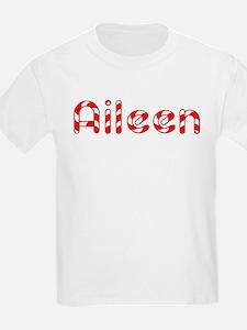 Aileen - Candy Cane Kids T-Shirt