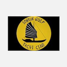 Tonkin Gulf Yacht Club Rectangle Magnet