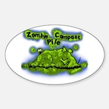Zombie Compost Pile Decal