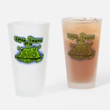 Zombie Compost Pile Drinking Glass