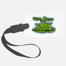 Zombie Compost Pile Luggage Tag