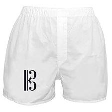 Alto Clef Alone Boxer Shorts