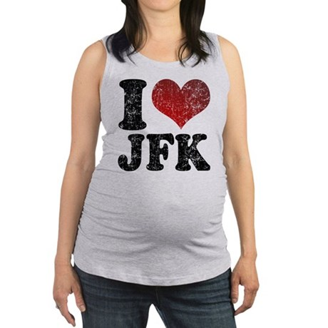 ILOVEJFK.png Maternity Tank Top