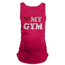heartmygymdty.png Maternity Tank Top