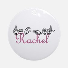 Rachel Ornament (Round)