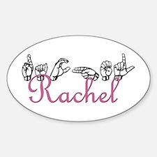Rachel Oval Decal