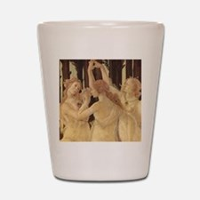 Primavera by Botticelli Shot Glass