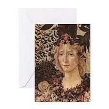 Primavera by Botticelli Greeting Card