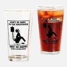 Gift For Bartender Drinking Glass