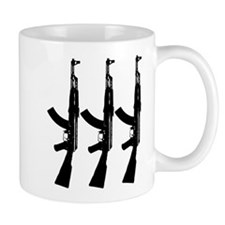 AKS ACROSS DARK Mug