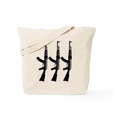 AKS ACROSS DARK Tote Bag