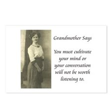 Grandmother Says 8 Postcards (Package of 8)
