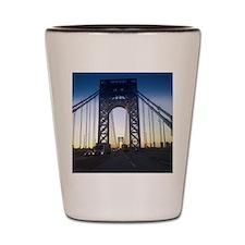 George Washington Bridge Shot Glass